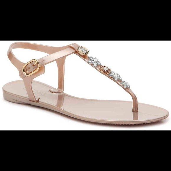 Guess Shoes | Cute Rose Gold Sandals